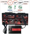 Pack lithium 12V – 2 batteries 26Ah & chargeur