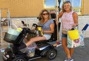 Le scooter pour personne à mobilité réduite a contribué à mon processus de guérison